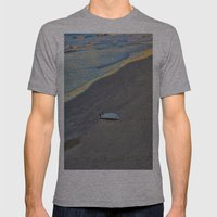 Forgotten on the Sand Mens Fitted Tee Athletic Grey SMALL