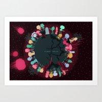 Planet Twelve Art Print