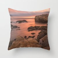 Point Lobos Throw Pillow