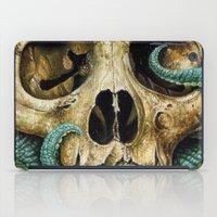 Tentacle skull iPad Case
