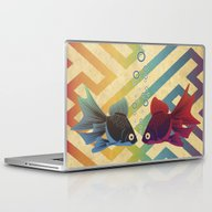 Laptop & iPad Skin featuring You & Me Both by Angelo Cerantola