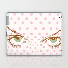 Pop art face Laptop & iPad Skin