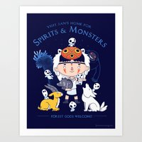 Forest Sanctuary Art Print
