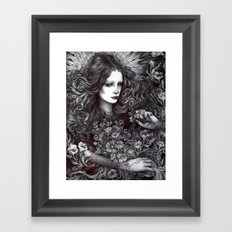 A Touch to Bloom Framed Art Print