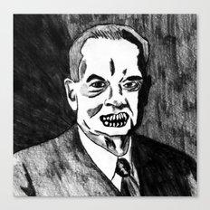 31. Zombie Herbert Hoover  Canvas Print