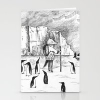 Antarctic explorer Stationery Cards