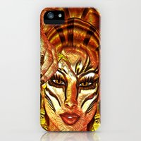 iPhone Cases featuring The Tiger's Light by TK0920