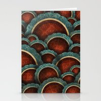 Illustrious Circles Stationery Cards