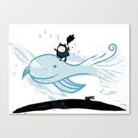 Whale Wind Canvas Print