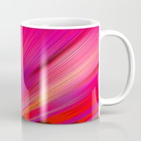 Re-Created  Feather iv by Robert S. Lee Mug