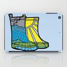Rainy Day Boots iPad Case