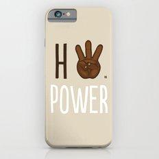 HiiiPower (w/text) : Chocolate Slim Case iPhone 6s