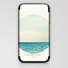 Salt Water Cure iPhone & iPod Skin