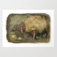 Fruit Garden Art Print