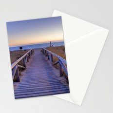 The path..., the beach.... Stationery Cards