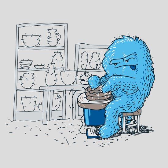 Hairy Potter Art Print
