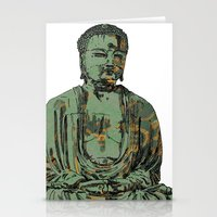 The Big Buddha Stationery Cards