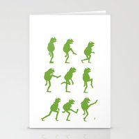 Ministry of Silly Muppet Walks Stationery Cards