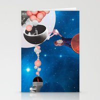 Space Flight Stationery Cards