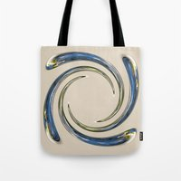 Liquid Snow drop Tote Bag