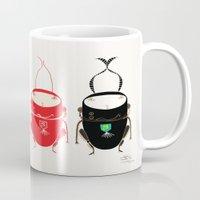Red cricket Mug