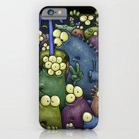 Crowded Aliens iPhone 6 Slim Case