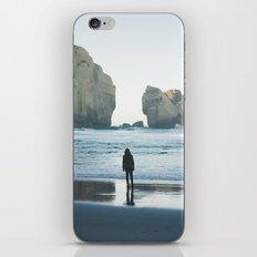 Tunnel Beach iPhone & iPod Skin