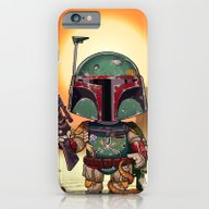 Boba Fett On Tatooine iPhone 6 Slim Case