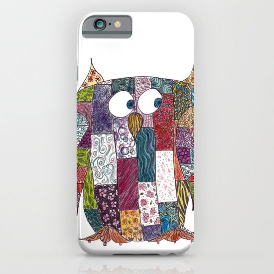 Logcabin Owl iPhone & iPod Case