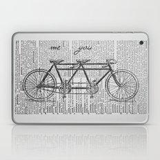 Me & You Tandem Bike Laptop & iPad Skin
