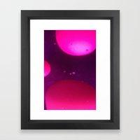 LAVA LAMP Framed Art Print