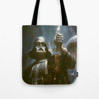 Darth Vader Vintage Tote Bag