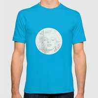 Optical Illusions - Iconical People 2 Mens Fitted Tee Teal SMALL