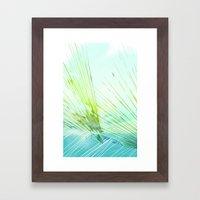 Land Observation Framed Art Print