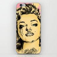 Mirror Monroe iPhone & iPod Skin