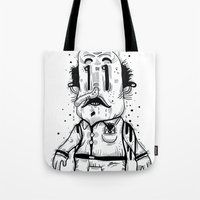Stinky Man Tote Bag