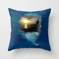 Divine Capture Throw Pillow