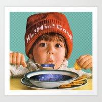 Star Soup Art Print