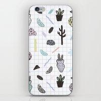 PASTEL GARDENS iPhone & iPod Skin