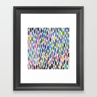 Connections 8 Framed Art Print