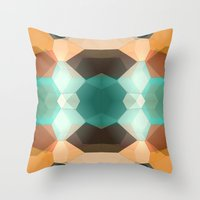 Edie Dimensions Throw Pillow