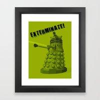 Dalek Framed Art Print