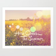 Here Comes The Summer Art Print