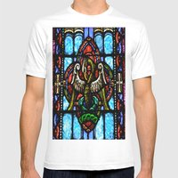 Rising From Glass Mens Fitted Tee White SMALL