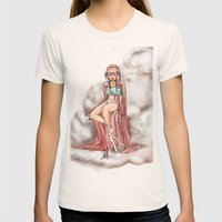 Goddess of the Clouds Womens Fitted Tee Natural SMALL