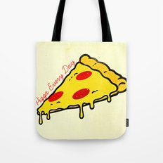 Pizza Every Day Tote Bag