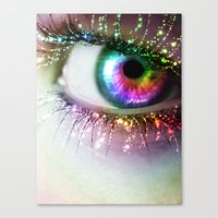 Rainbow Siren Canvas Print