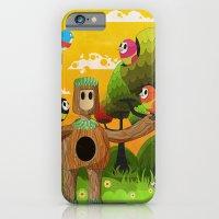iPhone & iPod Case featuring Treeborn by Teodoru Badiu