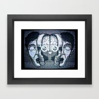 Expand Your Mind Framed Art Print