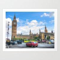 Parliament Art Print